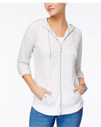Style&co. Style Co Petite French Terry Zip Hoodie Created For Macys