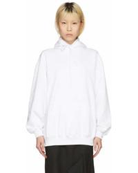 Balenciaga White Archetype Hoodie