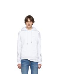 Off-White White Logo Slim Hoodie