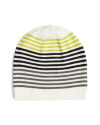 Eileen Fisher Stripe Wool Beanie