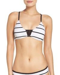 Seafolly Castaway Stripe Bikini Top