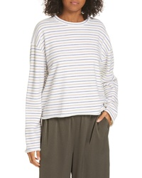 Vince Crop Striped Sweater