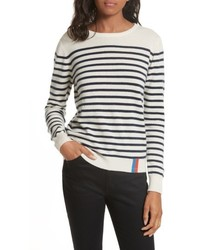 Stripe cashmere sweater medium 5264742