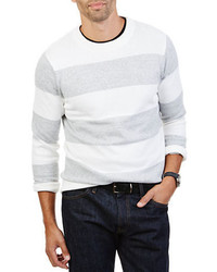 Nautica Striped Cotton Sweater