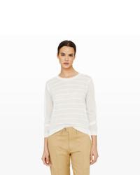 Club Monaco Sulana Stitch Stripe Sweater