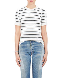Frame 70s Striped Fitted T Shirt