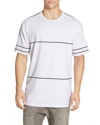 Zanerobe Blitz Stripe Oversize Crew Neck T Shirt