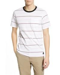 Hurley Dri Fit Straya Stripe Pocket T Shirt