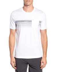 Travis Mathew Frontier Stripe Pocket T Shirt