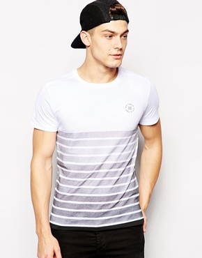 0eb958e00747 ... Jack Jones T Shirt With Gradient Stripe Print ...