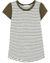 Kain Label Kain Hurston Striped Modal T Shirt