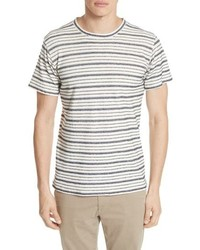Norse Projects Niels Textured Stripe T Shirt