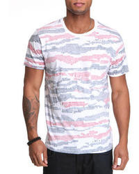 Wesc Pixel Stripe Pocket Tee