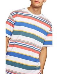 7c41d9b77d Men's Horizontal Striped T-shirts by Topman | Men's Fashion ...