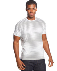 Alfani Red Carmelo Striped T Shirt