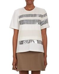 Rhi Mixed Stripe T Shirt White