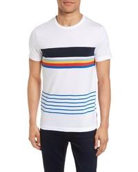 French Connection Senior Stripe Slim Fit T Shirt