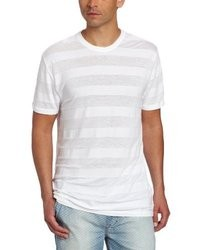 Calvin Klein Jeans Shifted Stripe Short Sleeve Crew Neck Tee