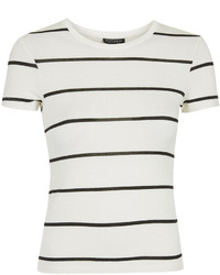 Topshop Short Sleeve Striped Tee