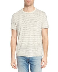 Jeremiah Stripe Hemp Cotton T Shirt