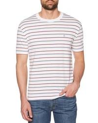 Original Penguin Striped Jaspe T Shirt