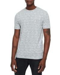 AllSaints Tonic San Slim Fit Stripe T Shirt