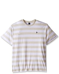 U.S. Polo Assn. Stripe Crew Neck T Shirt