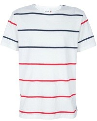 Wood Wood Fobes Striped T Shirt