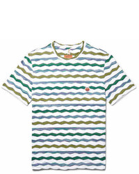 Missoni Zigzag Striped Cotton T Shirt