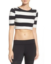 Reebok Yoga Stripe Crop Top
