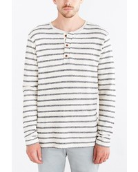 Scotch & Soda Striped Henley Tee