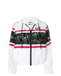 MSGM X Diadora Lace Hooded Jacket