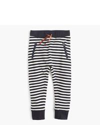 J.Crew Girls Striped Sweatpant