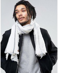 Esprit Lightweight Scarf In Fine Stripe