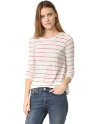 Intropia striped long sleeve tee medium 1252140