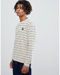 Wood Wood Mel Multi Colour Striped Long Sleeve T Shirt