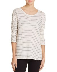 The long sleeve boyfriend stripe tee medium 1252137