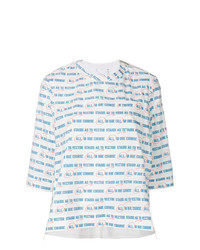 Sacai Vector Print Oversized T Shirt