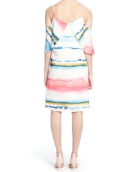 Catherine Catherine Malandrino Eden Cold Shoulder Dress