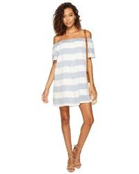 BB Dakota Kash Striped Off The Shoulder Dress Dress