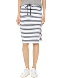 Bobi Stripe Skirt