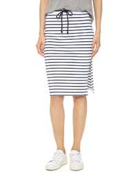 Bobi Stripe Skirt
