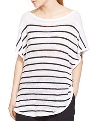 Lauren Ralph Lauren Striped Poncho Top