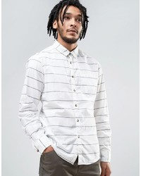Esprit Cotton Shirt With Stripe Detail
