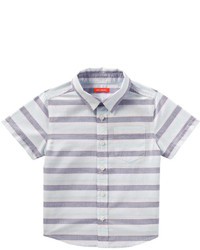 Joe Fresh Toddler Boys Stripe Shirt Navy