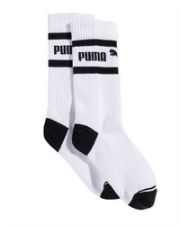 Puma Mid Length Terry Tube Socks