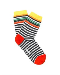 Missoni Multi Striped Cotton Blend Socks