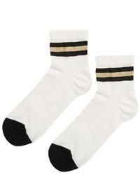 Sporty Crop Socks