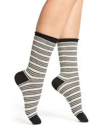 Treasurebond roll top crew socks medium 1317616