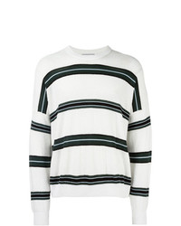 AMI Alexandre Mattiussi Striped Boxy Sweater